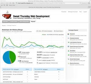 Sweet Thursday Email Marketing: More Statistics