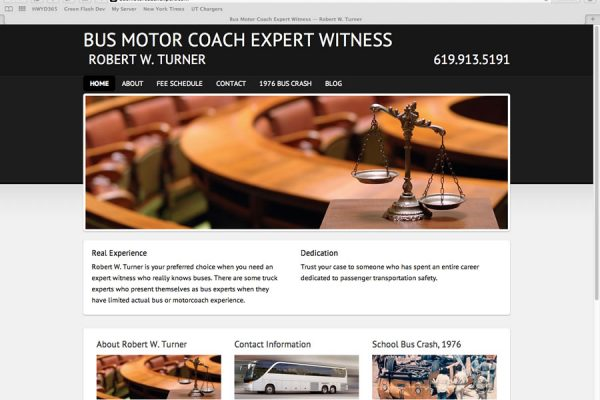 Bus Motor Coach Expert Website
