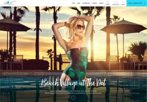 Beach Village at the Del Home Page
