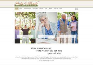 Vista Prado Website home page