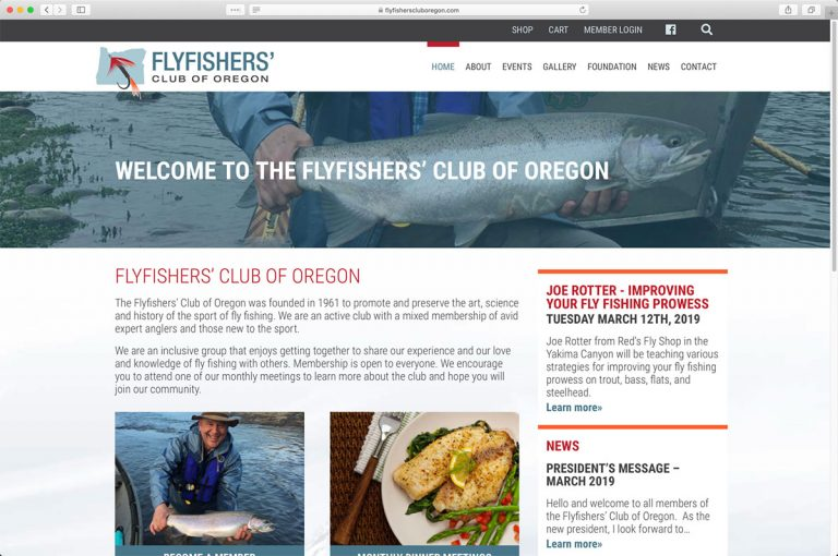 FlyFishers' Club of Oregon Home Page