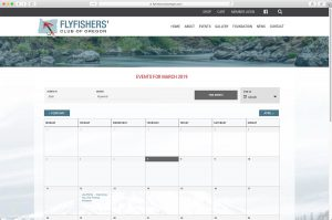 FlyFishers' Club of Oregon Calendar/Events Page
