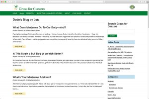 Grass for Geezers Blog Page