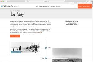 Hotel del Coronado History Page