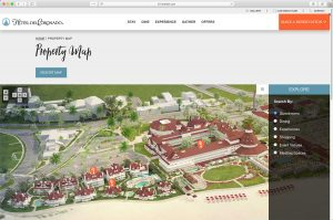 The Hotel del Coronado 3D Property Map Page