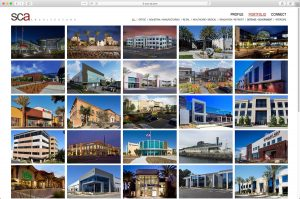 SCA Architects Main Projects Page