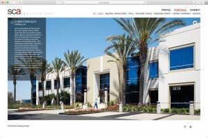 SCA Architects Project page