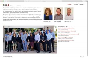 SCA Architects About Page