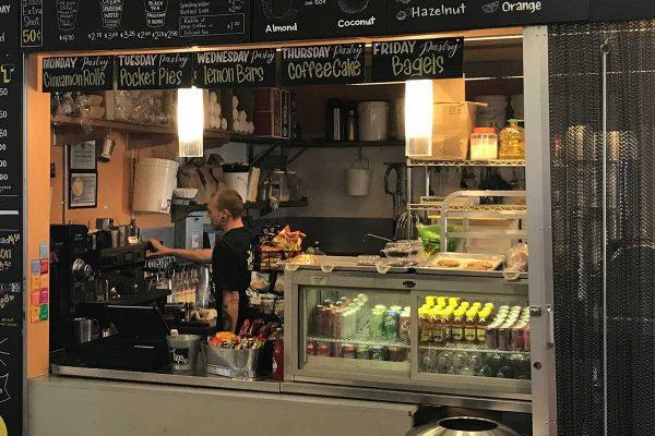 The Peavine Coffee Shop in Prescott Valley, Arizona