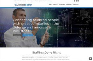 Defense Search home page