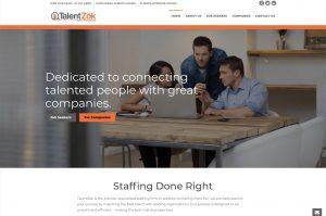 TalentZok home page
