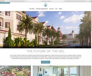 Hotel del Coronado Master Plan: Home Page