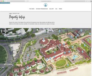 Hotel del Coronado Master Plan: Interactive Property Map