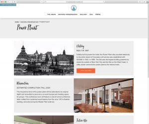 Hotel del Coronado Master Plan: Sub Page