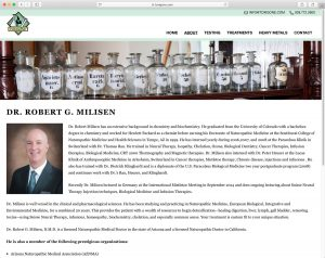 Toxigone Dr. Milisen bio page