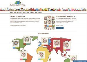 GeographyK12.com Home page