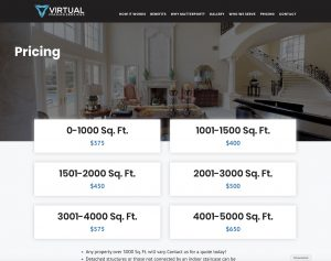 Virtual Imaging Services, LLC, Pricing Page